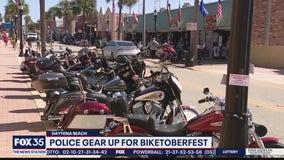 Police gear up for Biketoberfest