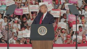 Pres. Trump addresses supporters in Sanford for 'Make America Great Again' rally