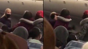 VIDEO: Delta flight attendant attacked by passenger on plane in Miami