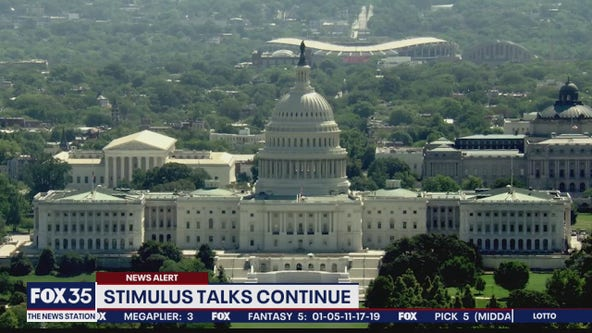 Coronavirus stimulus package talks continue