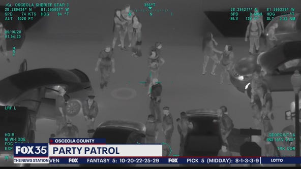 Deputies cracking down on pandemic parties