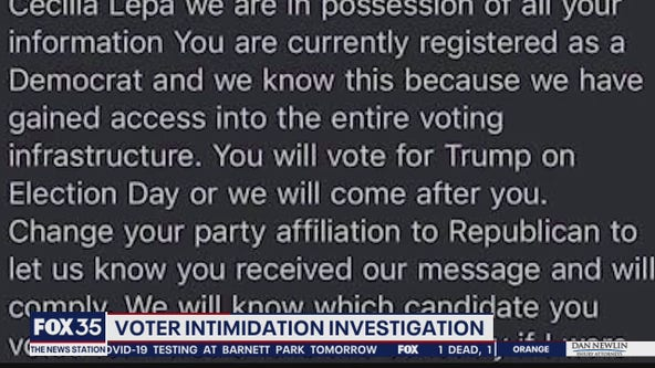 Officials in 3 Florida counties investigate emails as potential voter suppression