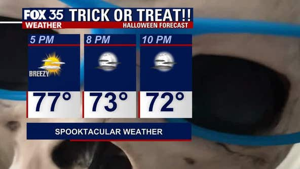 Halloween expected to be cool, breezy as series of fronts move in