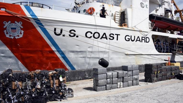 us coast guard cocaine bust
