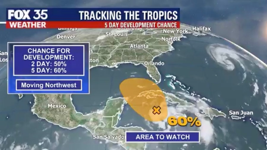 Disturbance in Caribbean could affect Florida this weekend