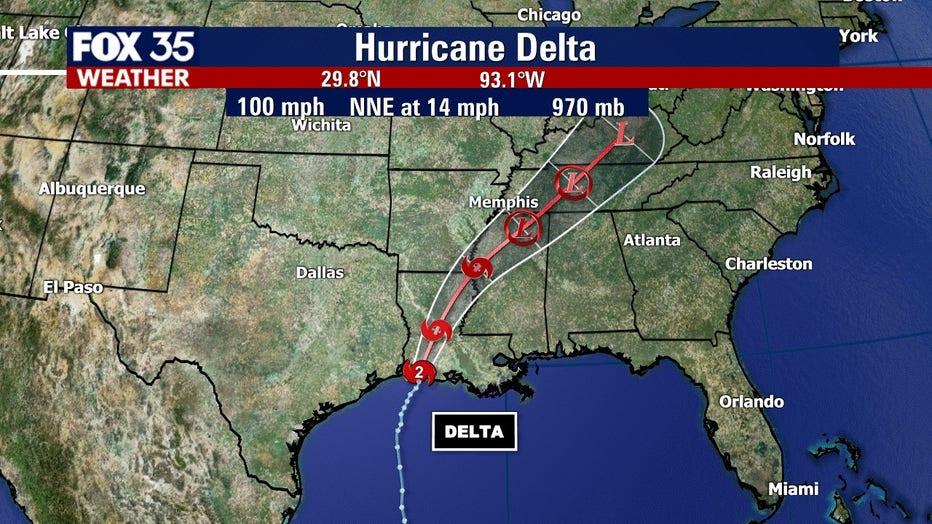 Delta-landfall