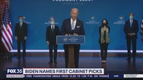 Biden names first cabinet picks