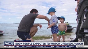 500K people expected to watch crewed launch