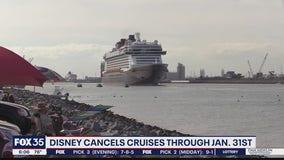 Disney cancel cruises through January 31