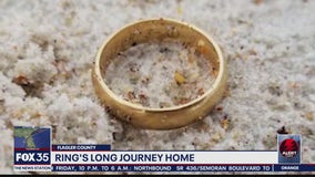 Ring lost at beach returned to widow
