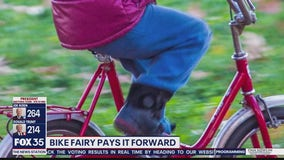 'Bike Fairy' collects bike donations for kids