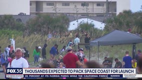 Thousands expected to flock to coast for Crew-1 launch