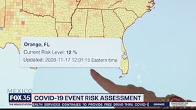 COVID-19 Event Risk Assessment mapping tool