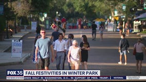 Fall festivities in Winter Park