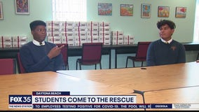 Students come to the rescue