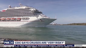 CDC says cruises are 'very risky' for COVID-19 exposure
