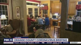 Orange County leaders say don't let guard down with COVID-19