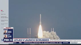 ULA scrubs launch of Atlas V