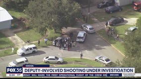 Deputy-involved shooting under investigation in Cocoa