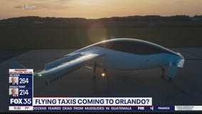 Flying cars may soon be ferrying passengers in Orlando