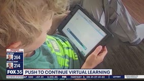Push to continue virtual learning beyond December