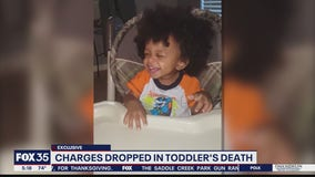 Charges dropped in toddler's death
