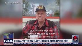 Veteran captures hearts on TikTok