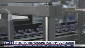 Pfizer to file COVID-9 vaccine approval soon
