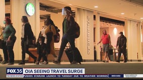 OIA seeing travel surge
