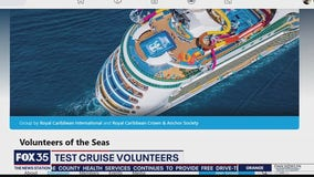 Test cruise volunteers