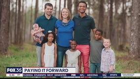 Couple builds family through fostering