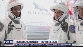 Historic launch weekend on Space Coast