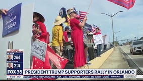 Trump supporters hold protest over vote county
