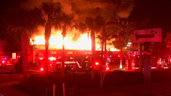 'Suspicious' fire breaks out at Daytona Beach strip mall