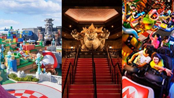 Universal gives sneak peek, opening date for Super Nintendo World