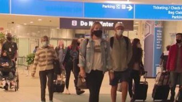 Thousands traveling to and from Central Florida for Thanksgiving