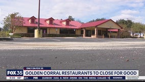 Golden Corral restaurants to close for good