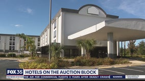 Orlando hotels on the auction block