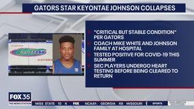 Florida's Keyontae Johnson collapses on court