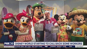 Disney World starting to call back some workers