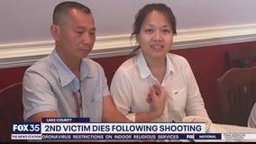 Second victim dies following shooting