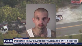 Escaped inmate captured after crash