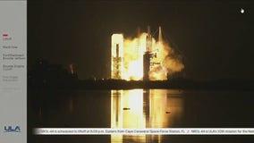 ULA Delta IV Heavy rocket launch of NROL-44