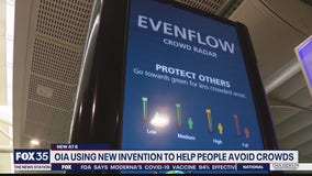 OIA using technology to help people avoid crowds