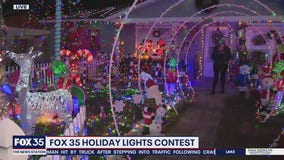 FOX 35 Holiday Lights: Adair Street in Ocoee