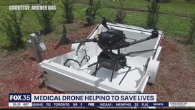 Medical drone aims to save lives