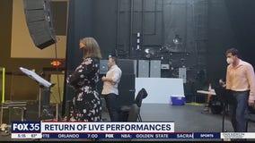 Return of live performances in Orlando