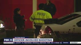 Officer-involved shooting in Daytona Beach