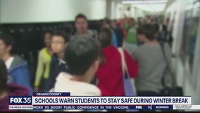 Superintendent warns of large holiday gatherings