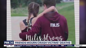 Friends mourn siblings killed in wrong-way crash